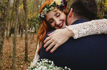 """El """"sí, quiero"""" de Lydia y Bastian: un amor en tiempos de Facebook"""