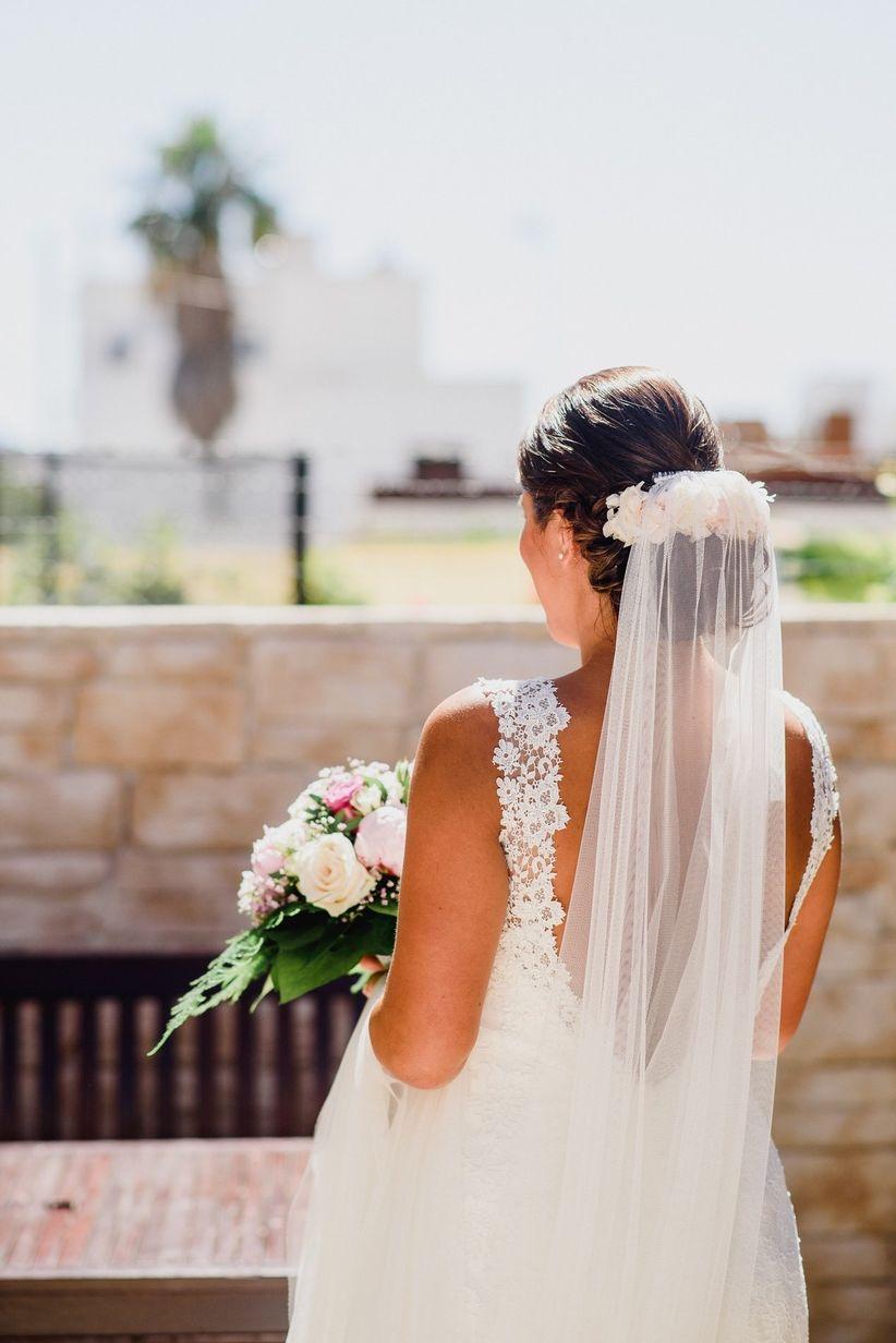 f53b8c929e Cómo escoger el velo de novia más apropiado para ti