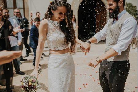 """""""Atrapa tus sueños"""": el lema de la boda de Miriam y Eros"""