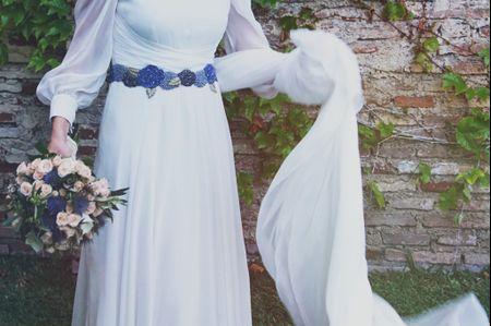 ¿Qué tipo de cinturón queda mejor con tu vestido de novia y con tu figura?