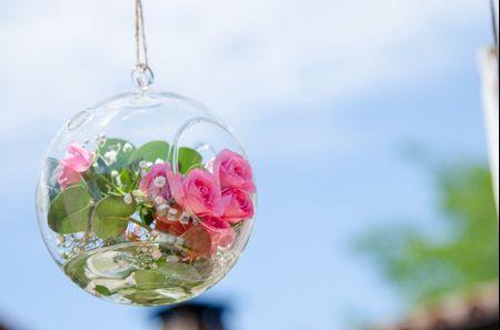 7 ideas decorativas con elementos colgantes para la boda