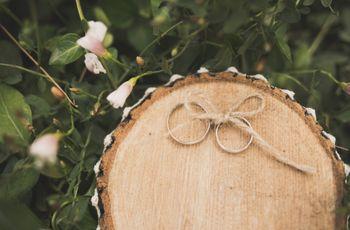 Alianzas y arras, símbolos del matrimonio