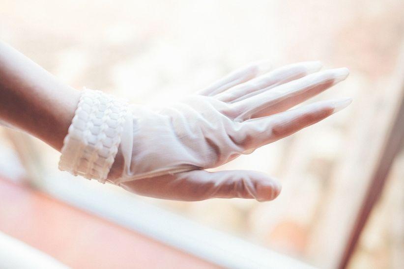 Los complementos de la novia: ¡quiero llevar guantes!