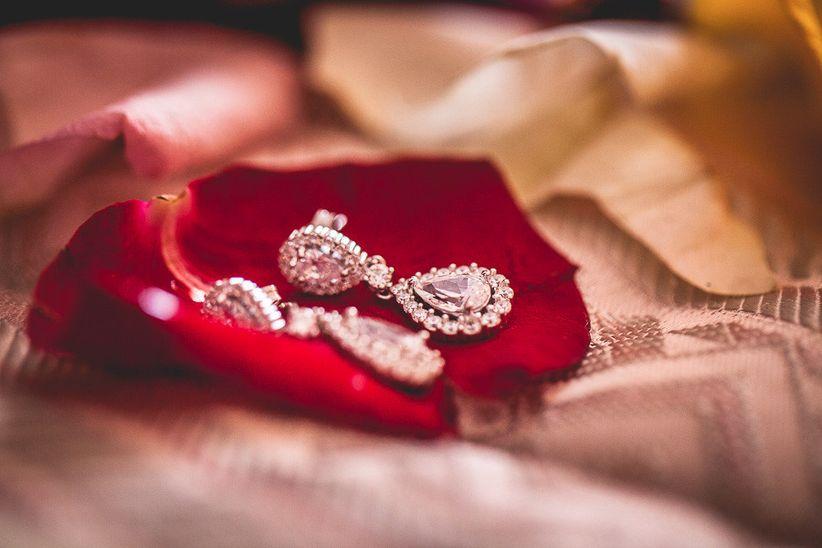 dc9ec489abb8 Los pendientes según el estilo de novia y de boda