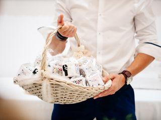 ¿Pensando en cuándo entregar los detalles de boda?