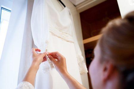 La prueba del vestido, �qui�n acompa�a a la novia?