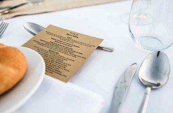 Lo que no debe faltar en la mesa del banquete de boda