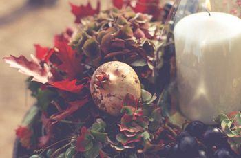 Ideas originales de boda: ¡sí! a los centros de mesa con velas
