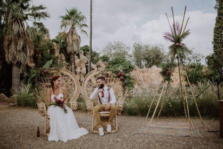 Miguel y Lorena: de romance de verano a marido y mujer