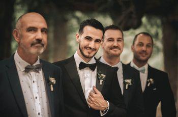 ¿Quiénes son los testigos y los padrinos de boda?