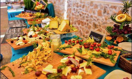 8 consejos para organizar una boda buffet