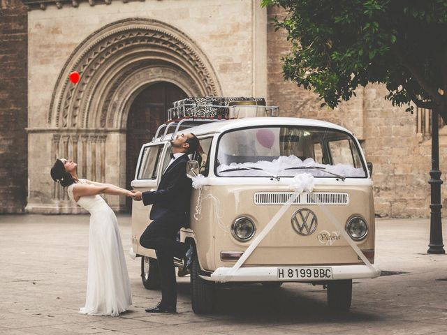 15 ideas originales para decorar el coche de bodas
