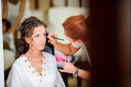Maquillaje de ojos para novias