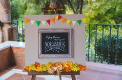 20 ideas para decorar una boda en otoño