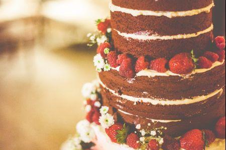 Naked cakes, una tendencia en tartas de boda