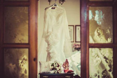 2 vestidos para tu look de novia