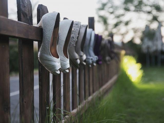 Ideas para los zapatos de las damas de honor
