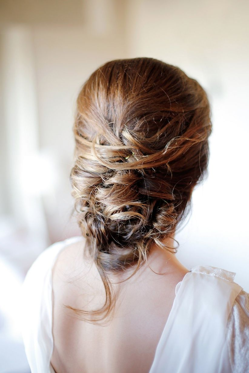 Peinados Para Novias 50 Recogidos Bajos Espectaculares
