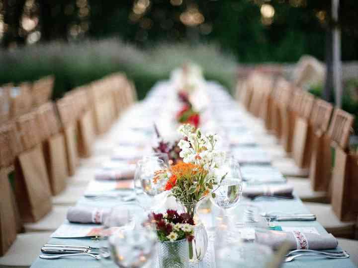 Los imprescindibles en las mesas del banquete de boda