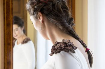 Trenzas para bodas: 22 peinados para novias con estilo