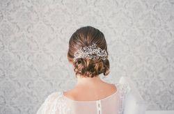 Peinados para novias: 50 recogidos bajos espectaculares