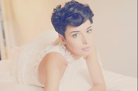 20 peinados chic para novias de pelo corto