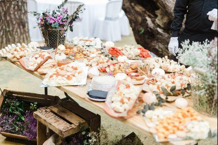 Claves para un banquete de boda tipo buffet perfecto
