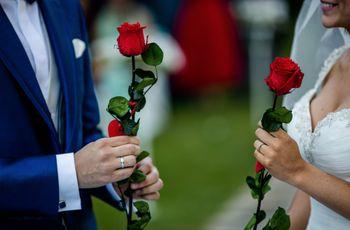 La ceremonia de la rosa