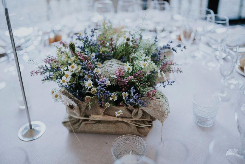Decora tu boda con macetas una apuesta sencilla y muy - Macetas para centros de mesa ...