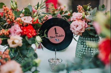 12 ideas originales para nombrar las mesas del banquete