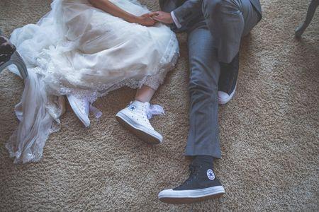 Un segundo par de zapatos para tu look de novia