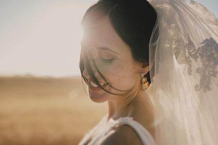 Cómo escoger el velo de novia más adecuado para ti