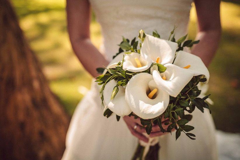 Ramos de novia con calas 20 ideas en todos los estilos - Ramos de calas para novias ...
