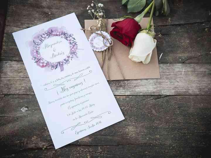 Invitaciones de boda vintage: 25 diseños con encanto