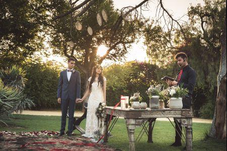 6 ideas para elegir al oficiante de la ceremonia de tu boda
