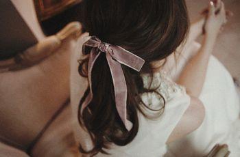 30 peinados informales perfectos para novias casual