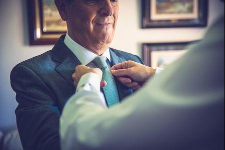 El look perfecto para el padre de la novia