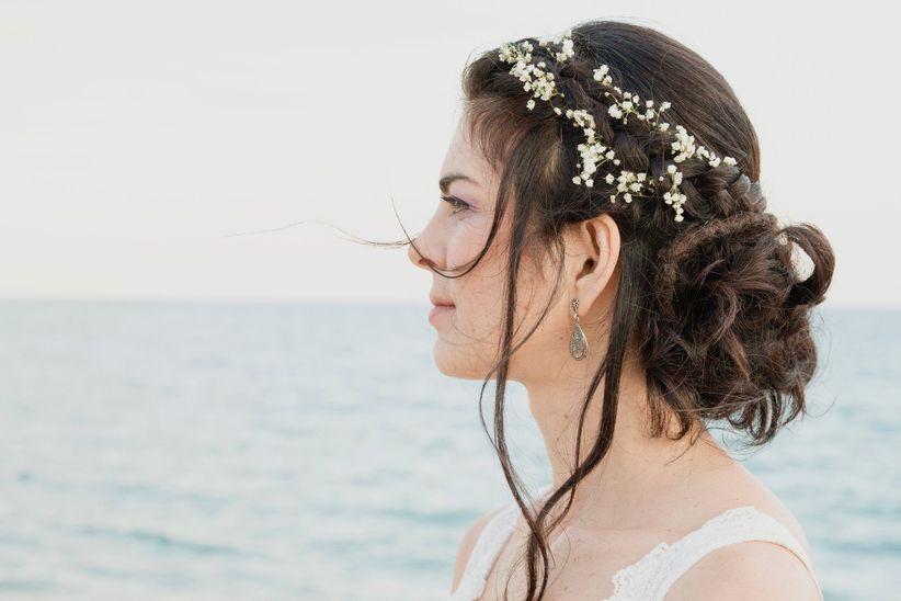 018c9bbd4d Look de novia para una boda en la playa