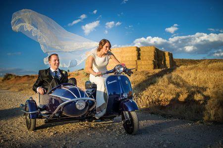 ¡Poned un sidecar en vuestra boda!