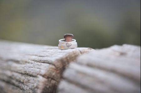 Vuestras alianzas de boda con las huellas dactilares