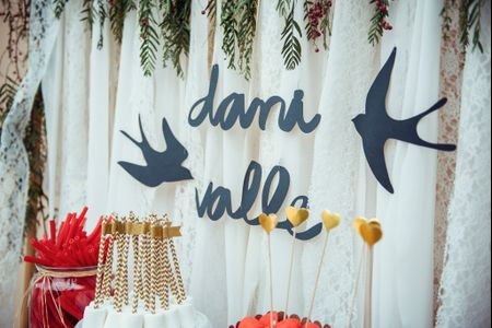 25 ideas para tu photocall de boda