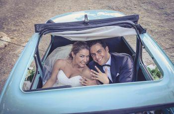 5 tips para una sesión de fotos original en el coche de boda