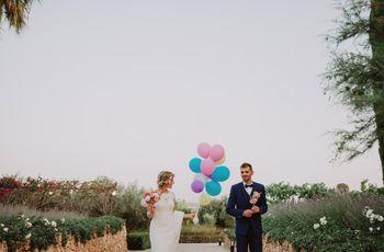 Ideas originales para bodas: ¡decora con globos!