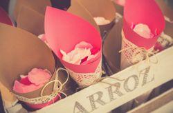 35 conos de papel para tu boda