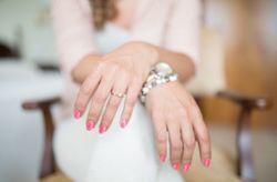 6 tendencias para la manicura de la novia