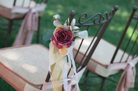 5 ideas para decorar las sillas de la boda