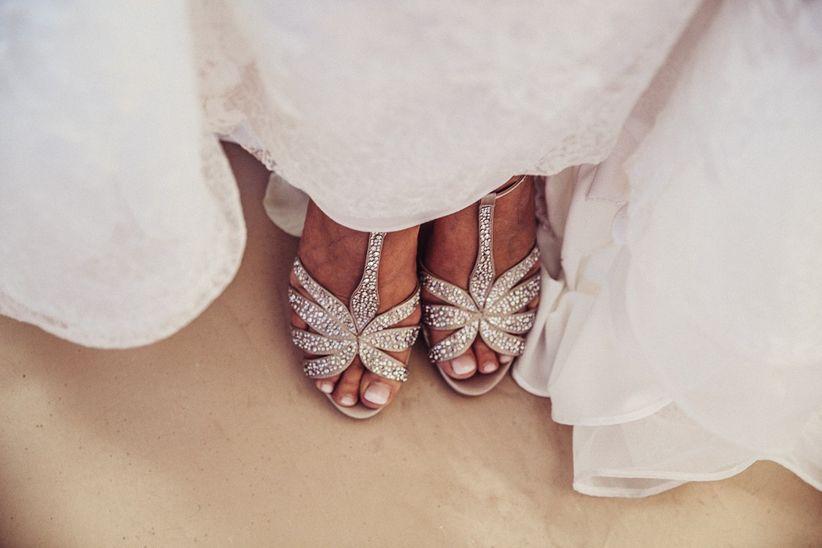72ab24fae1 Elegir los zapatos de novia  todos los tipos y estilos