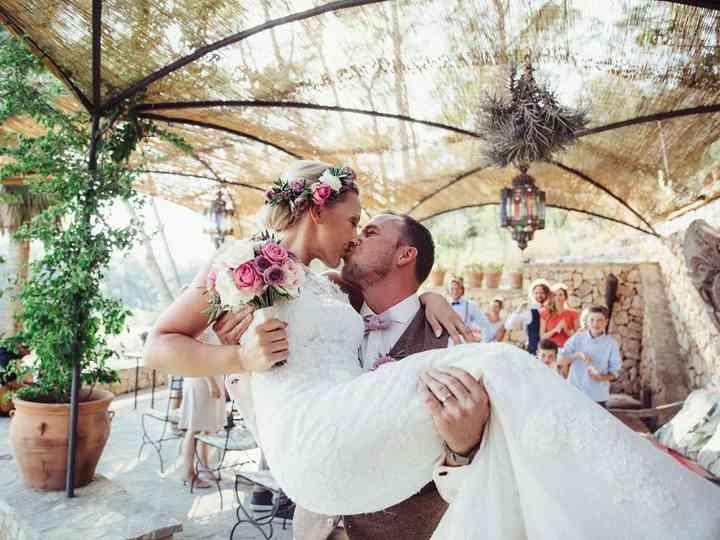 La destination wedding de Sabrina y Martin en Mallorca: ¡íntima e inspiradora!