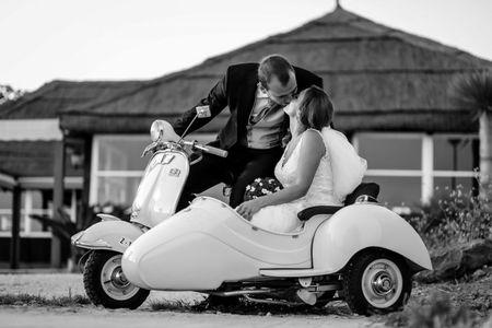 10 medios de transporte muy originales para los novios