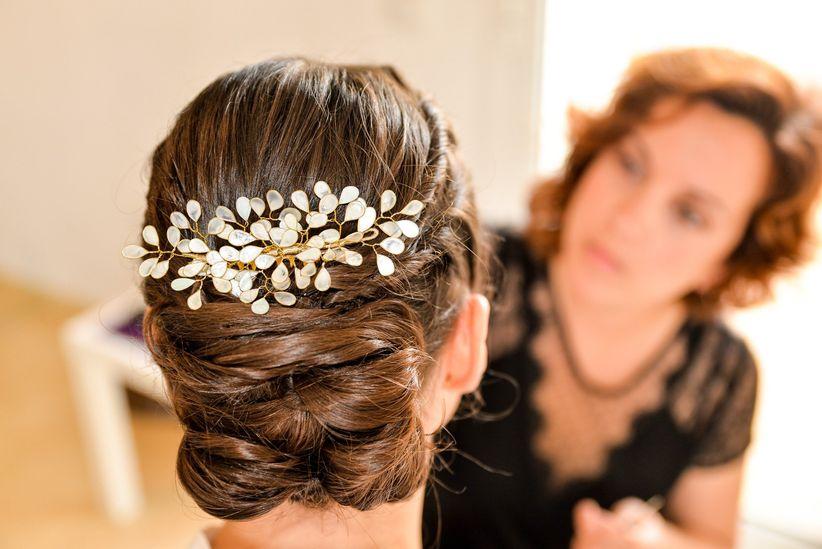Elige tu peinado de novia segn tu tipo de cabello